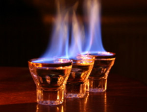 Alcohol Burning